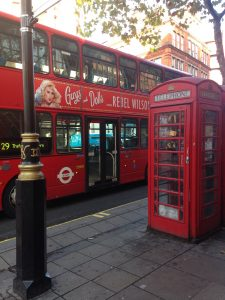 London,Double decker bus,grief,caregiving