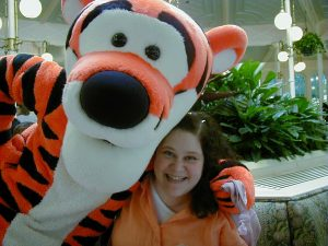 Birthday Hugs from Tigger