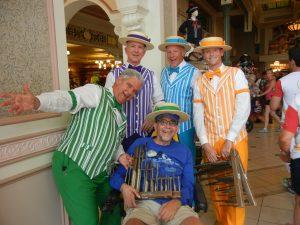 The Dapper Dans were very cool! Ben always loved them.