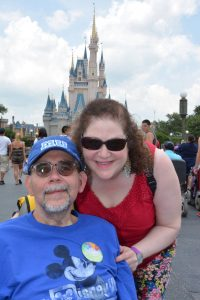 Ben and I at Walt Disney World, July 2014