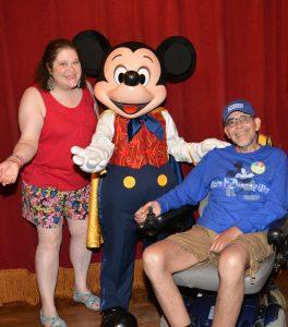 Walt Disney, Walt Disney World, ALS, Caregiver, Grief