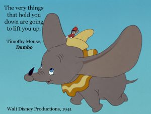 ALS, Caregiving, Caregiver, Disney, Dumbo