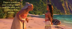 Grief,Grandmother,Moana,Gramma Tala,Walt Disney Pictures