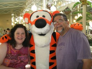 ALS,Caregiver,ALS Awareness Month,Walt Disney World, Mickey Mouse, Crystal Palace, Magic Kingdom