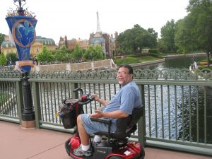 ALS,Caregiver,ALS Awareness Month,Walt Disney World, Mickey Mouse, Epcot