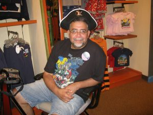 ALS,Caregiver,ALS Awareness Month,Walt Disney World, Mickey Mouse, Pirates