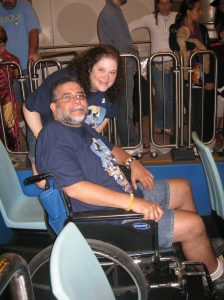 ALS,Caregiver,ALS Awareness Month,Walt Disney World, Mickey Mouse, It's a Small World