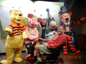 ALS,Caregiver,ALS Awareness Month,Walt Disney World, Winnie the Pooh