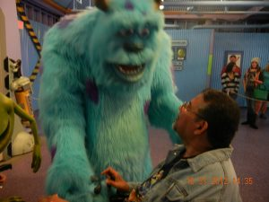 ALS,Caregiver,ALS Awareness Month,Walt Disney World, Sully, Monsters Inc