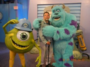 ALS,Caregiver,ALS Awareness Month,Walt Disney World, Sully, Monster Inc