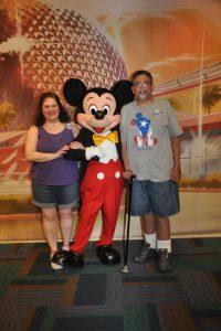 ALS,Caregiver,ALS Awareness Month,Walt Disney World, Mickey Mouse
