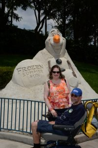 Walt Disney World,Frozen,ALS,Caregiving