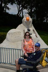 Walt Disney World,Frozen,ALS,Caregiving