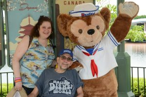 ALS,Caregiving,Epcot,Walt Disney World