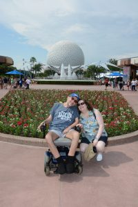 ALS,Caregiving,Epcot,Walt Disney World